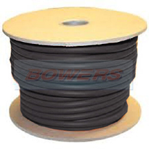 Black 110A PVC Flexible Battery Earth Cable 203/0.30mm 16mm² 10m Roll
