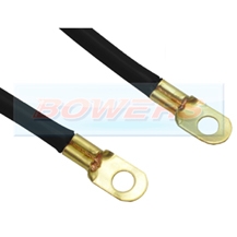 6 Inch 140mm Black Battery Earthing Cable/Strap