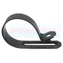 Black Nylon P Clips For 9-14mm Cable 25 Pack