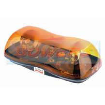 Britax A421.00.12V 12v SIngle Bolt Mount Mini Rotating Halogen Amber Beacon Bar Lightbar