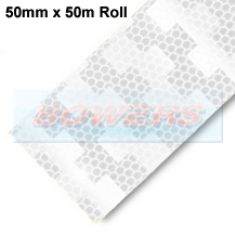 Avery Dennison White Conspicuity Tape For Rigid Trailers