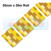 Avery Dennison Yellow Conspicuity Tape For Curtain Trailers