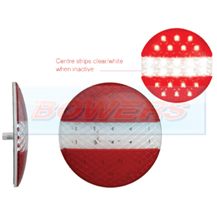 LED Autolamps EU140TRM 12v/24v Low Profile Round Rear European Style LED Combination Stop/Tail/Reverse Trailer Lamp/Light