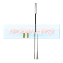 Universal M5/M6 Thread 17cm Aluminium Screw In Bee Sting Car Aerial/Ariel/Arial Antenna