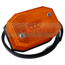 Amber LED Side Marker Light/Lamp For Ifor Williams Brian James Trailers