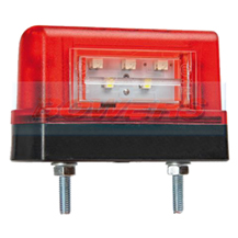 12v/24v LED Combined Rear Number Plate And Marker Lamp/Light FT-016/1/A