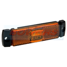 12v/24v Slim Line/Low Profile Amber LED Side Marker Lamp/Light FT-017Z
