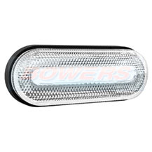 12v/24v ADR Approved White LED Front Marker Lamp/Light