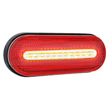 12v/24v ADR Approved Red LED Rear Marker Lamp/Light