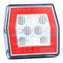 Universal Square Neon LED Combined Rear Tail And Reverse Light/Lamp