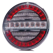 12v/24v Universal LED Rear Hamburger Combined Tail, Fog And Reverse Light Lamp