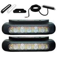 Compact LED Daytime Daylight Running Lights DRL DLR FT-300LED