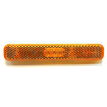 12v Amber Rectangular Stick On Self Adhesive LED Caravan Motorhome Trailer Side Marker Light Lamp