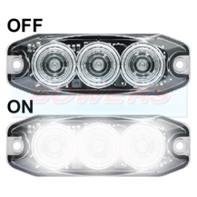 LED Autolamps 11WM 12v/24v Compact Low Profile LED Reverse Light Lamp