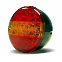 LED Rear Hamburger Lights