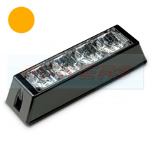 12v/24v 4 Module LED Amber Flashing Strobe Hazard Warning Light/Lamp