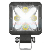 "OSRAM LEDriving Cube MX85-WD LED Work Light Lamp With White ""X"" Front Side Light"