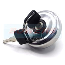 Classic Mini Stainless Steel Vented Locking Petrol Fuel Cap