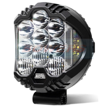 "7"" Inch Round Full LED Spot/Driving Light 12v/24v Maypole MP5076"