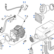 Eberspacher Heater Parts Finder