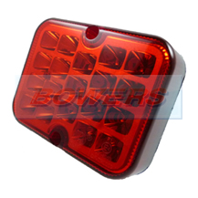Ring RCT495 12v Square LED Fog Lamp/Light