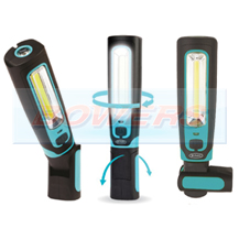Ring RIL3600HP MAGflexTwist COB LED Magnetic Rechargeable 360° Inspection Lamp + Torch