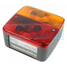 Square Universal Rear Combination Tail Lamp/Light