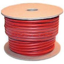 Red 110A PVC Flexible Battery Starter Cable 203/0.30mm 16mm² 10m Roll