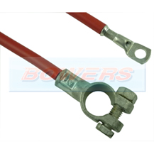 9 Inch 225mm Red Battery Starter Cable + Battery Terminal