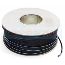 Black 2A Twin Speaker Cable 2x12/0.20mm 0.35mm² 30m Roll