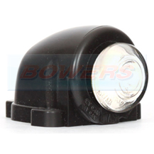 WAS W25 12v/24v White Front Roof Cab Top Wing Mount LED Marker Light Lamp