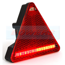 WAS W68P R/H Triangle LED Rear Combination Trailer Light Lamp