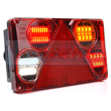 WAS W70DP R/H 12V 24V LED Rear Combination Trailer Light Lamp