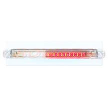 WAS W73 ARF 12v/24v Universal Slim Line LED Rear Combined Fog And Reverse Light Lamp
