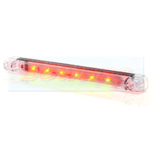 WAS W87 12v/24v Universal Clear LED High Level 3rd Brake Stop Light Lamp