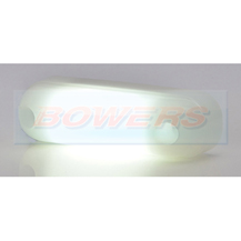 WAS W109N 12v/24v Neon White Front LED Marker Light Lamp