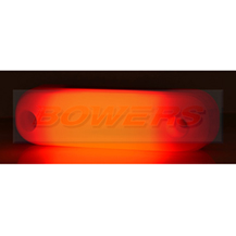 WAS W109N 12v/24v Neon Red Rear LED Marker Light Lamp