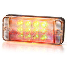 WAS W111 12v/24v Universal Compact LED Rear Combination Tail Light Lamp