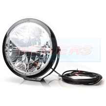 "WAS W116 12v/24v 9"" Inch Round Full LED Spot/Driving Light"