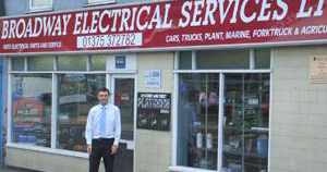 Broadway Electrical Services Testimonial